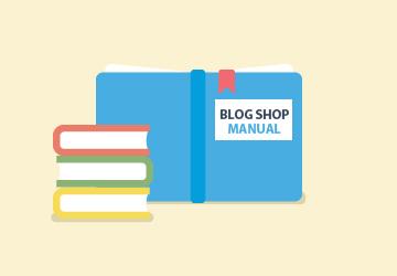 Blog Shop 테마 매뉴얼